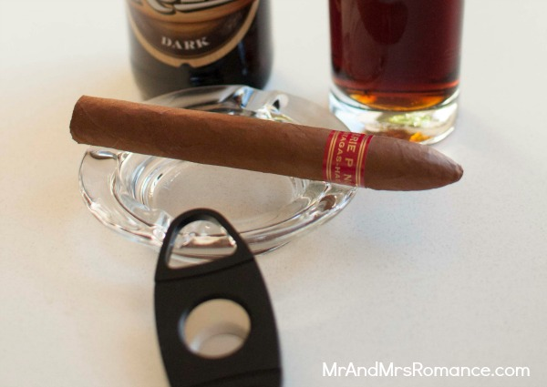 Mr & Mrs Romance - shopping for cigars - 5 Partagas P 2