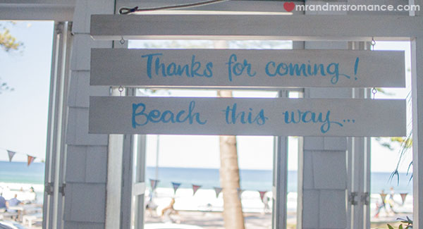 Mr and Mrs Romance - Back to the beach after Manly Wine