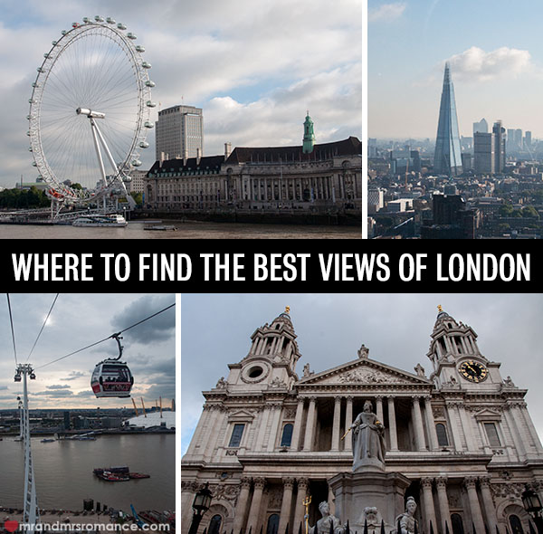 Mr and Mrs Romance - Where to find the best views of London