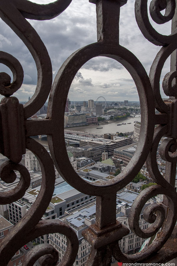 View of London from St Pauls Cathedral 2