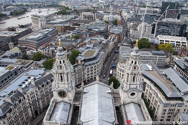 View of London from St Pauls Cathedral 3