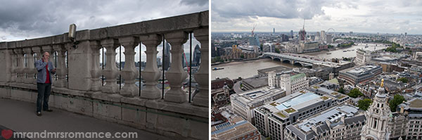 View of London from St Pauls Cathedral 4
