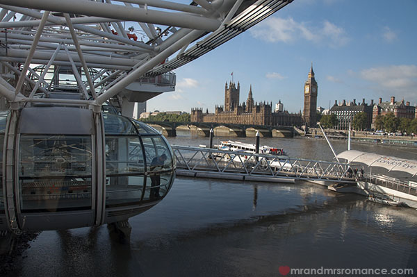 View of London from the London Eye 2