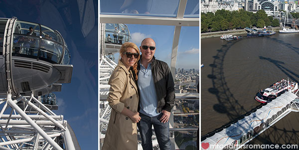 View of London from the London Eye 3