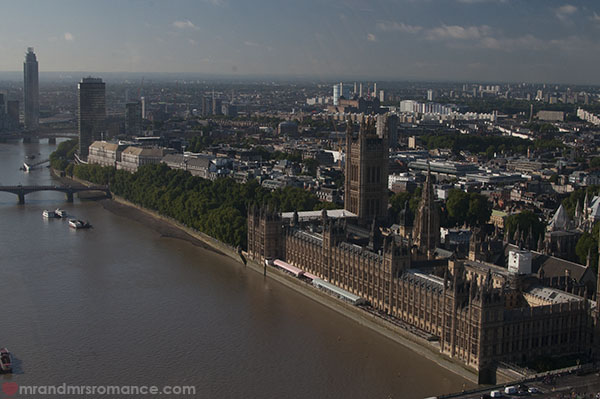 View of London from the London Eye 4