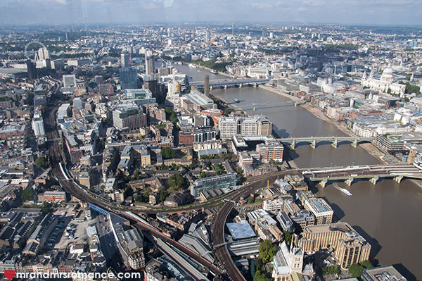 View of London from the Shard 5