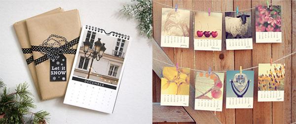 Create a photo calendar of your travel photos