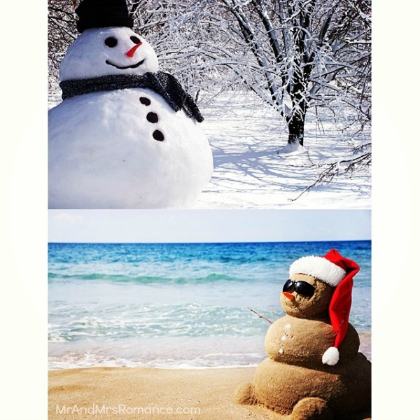 Mr & Mrs Romance - Insta Diary - 11MM8 Hot Christmas vs Cold Christmas He Said She Said