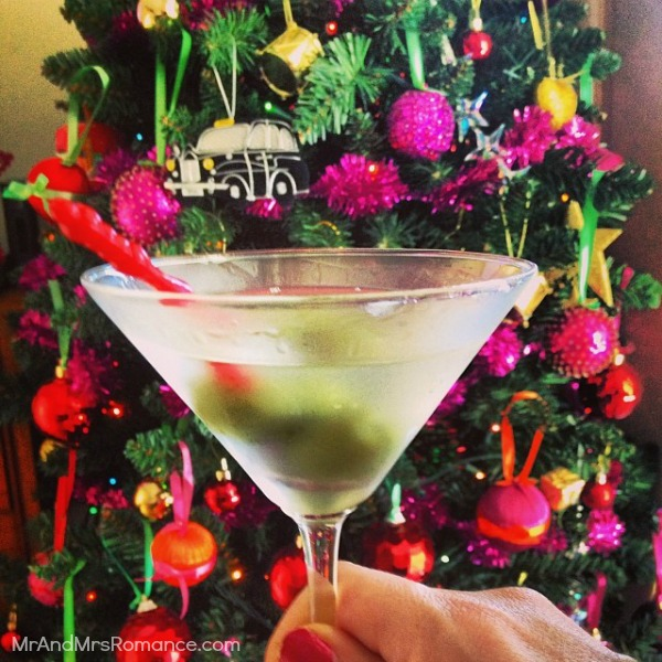 Mr & Mrs Romance - Insta Diary - 18 martini time!