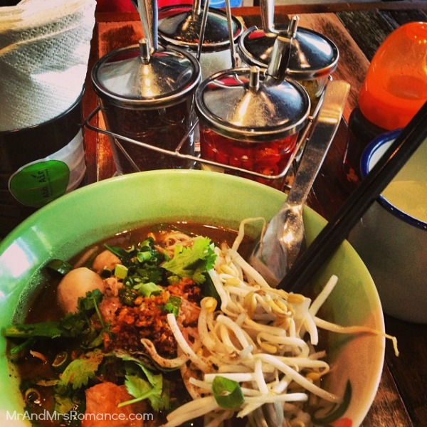Mr & Mrs Romance - Insta Diary - 9 MM9 Thai pork boat from AbbAir