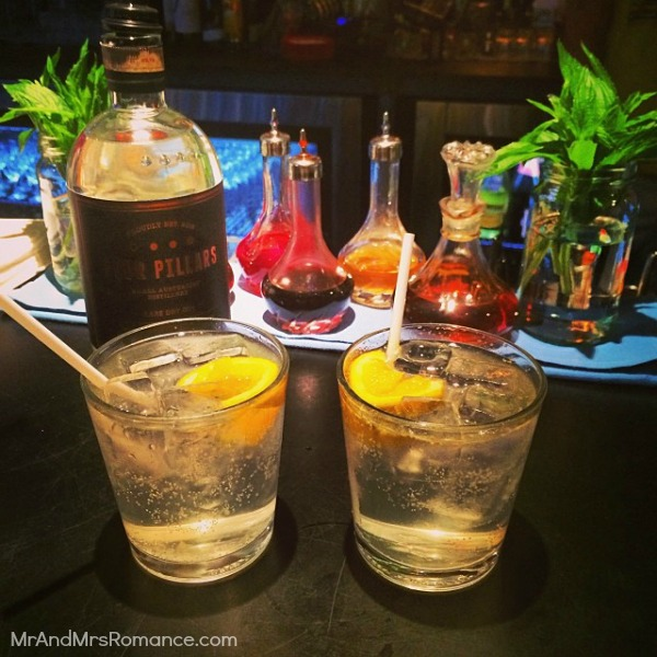 Mr & Mrs Romance - Insta Diary - MM1 Four Pillars g&t