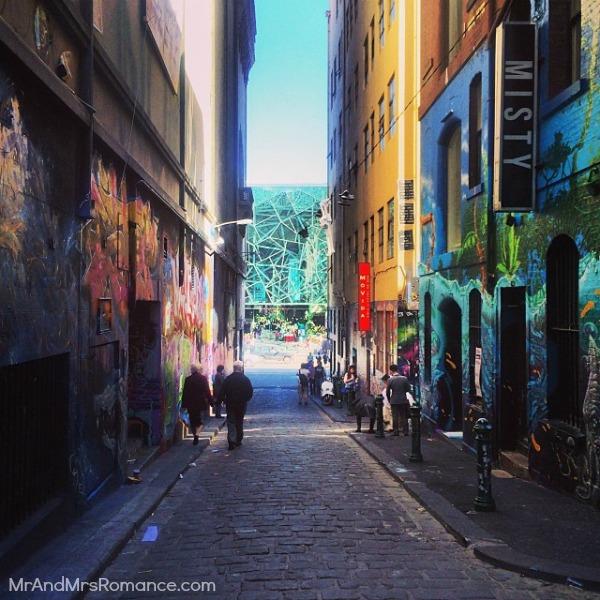 Mr & Mrs Romance - Insta Diary - MM20 Melbourne laneways