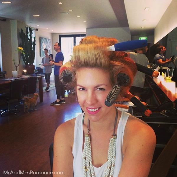 Mr & Mrs Romance - Insta diary - 10HR2 blowdry from Anthony Nader