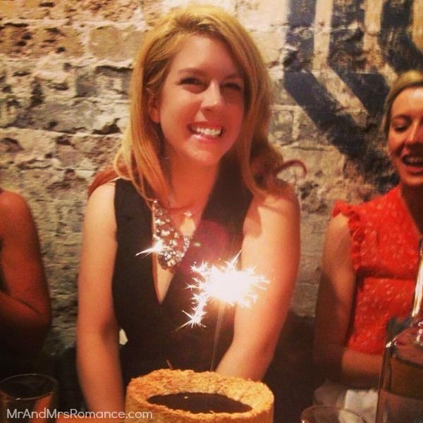 Mr & Mrs Romance - Insta diary - 14HR6 birthday cake time