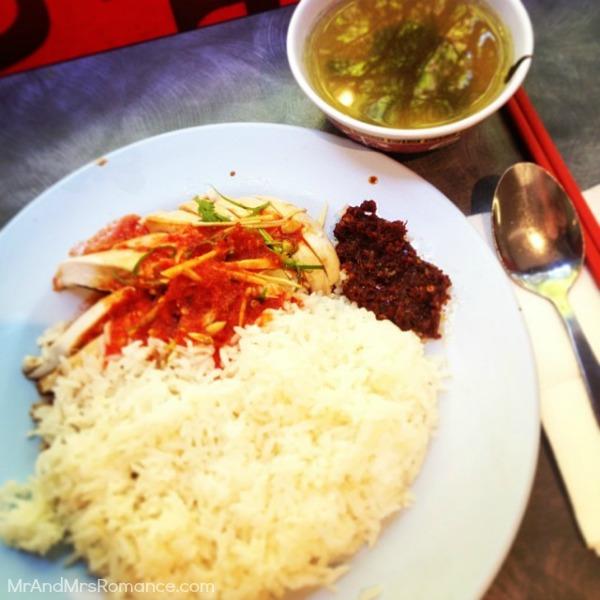 Mr & Mrs Romance - Insta diary - 17MM10 last Hainanese chicken rice of 2013
