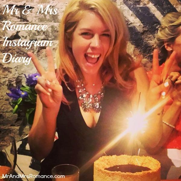 Mr & Mrs Romance - Insta diary - 1HR7 birthday cake happiness