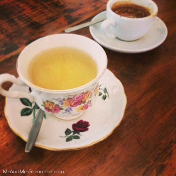 Mr & Mrs Romance - Insta diary - 22MM14 tea at Lemonia