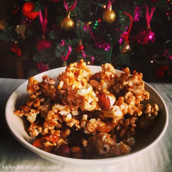 Mr & Mrs Romance - Insta diary - 26MM17 caramel nutty popcorn