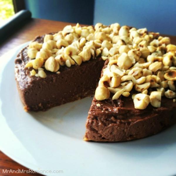 Mr & Mrs Romance - Insta diary - 4MM3 Nutella cheesecake