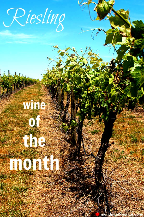 Mr & Mrs Romance - wine of the month - 1 title