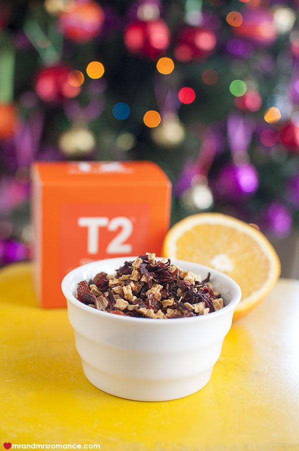 Mr and Mrs Romance - 2 Festive citrus iced tea - T2