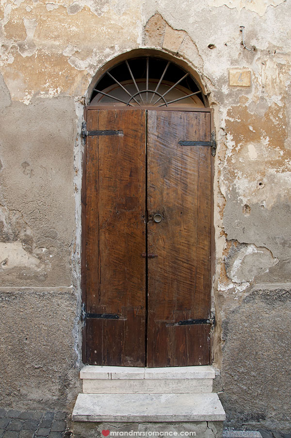 Mr and Mrs Romance - Doors of Tuscany Italy 1