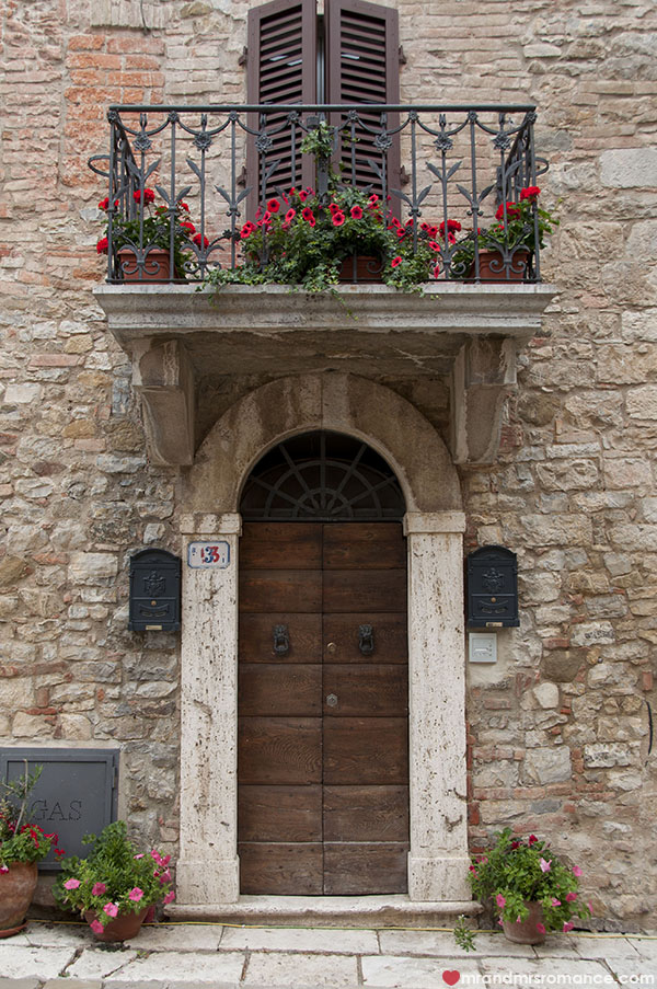 Mr and Mrs Romance - Doors of Tuscany Italy 2