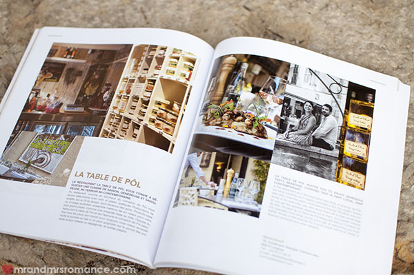 Mr and Mrs Romance - La Table du Pol - Book feature