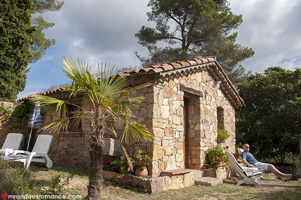 Mr and Mrs Romance - Our stone cottage in Lorgues Provence