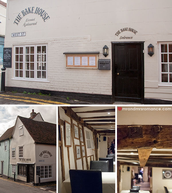 Mr and Mrs Romance - The Bakehouse Restaurant Wivenhoe review