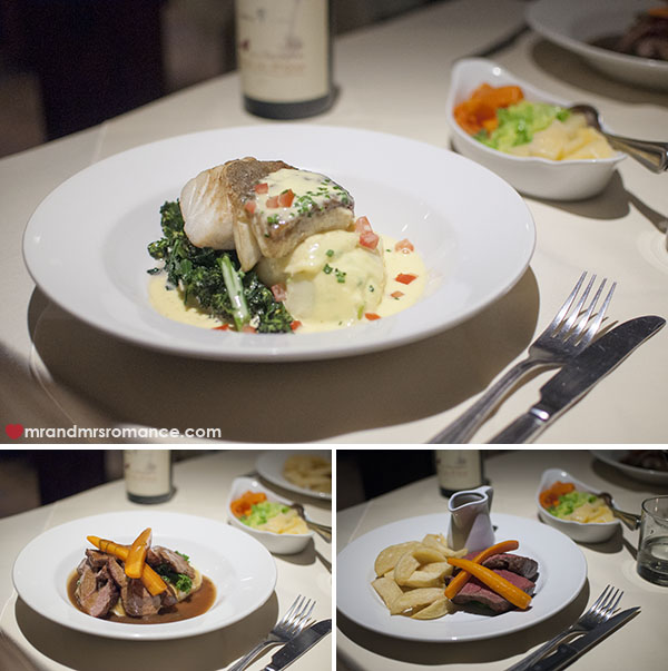 Mr and Mrs Romance - The Bakehouse Restaurant Wivenhoe - second courses