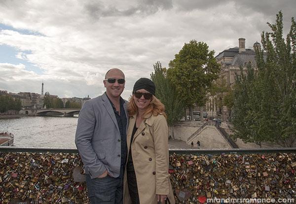 Mr and Mrs Romance in Paris