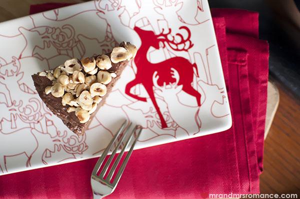 Mr and Mrs Romance - the best Gluten-Free Nutella Cheesecake Recipe