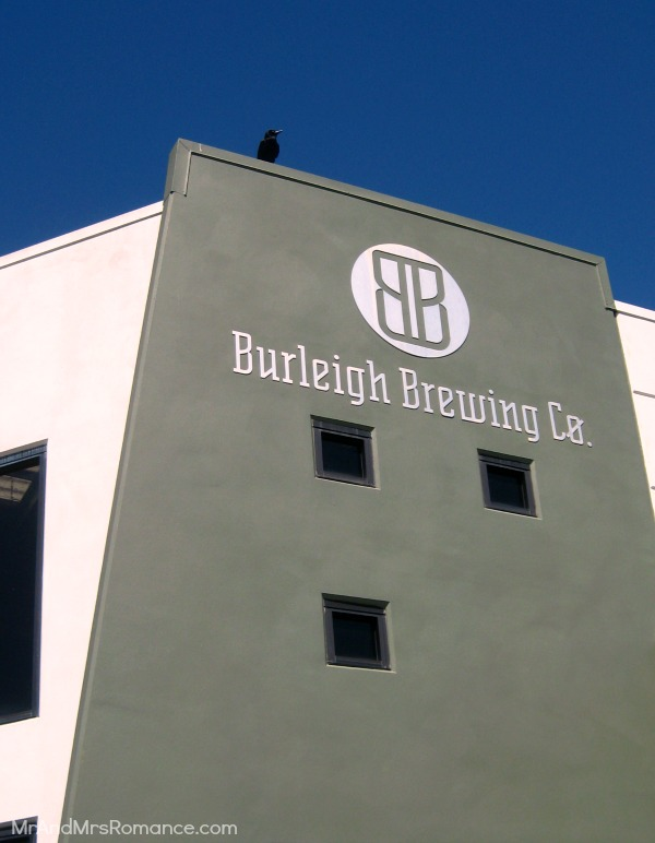 Mr & Mrs Romance - Friday Drinks - 2 Burleigh Brewing Co front