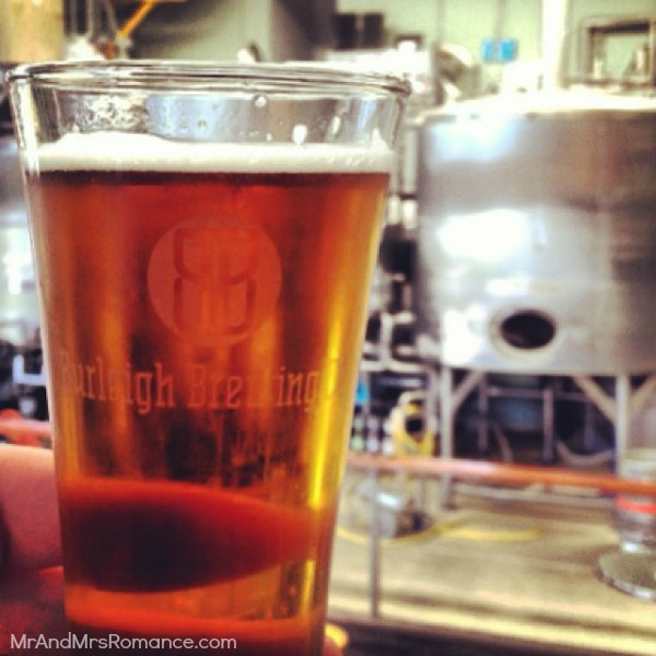 Mr & Mrs Romance - Insta Diary - 13 Burleigh Brewery post