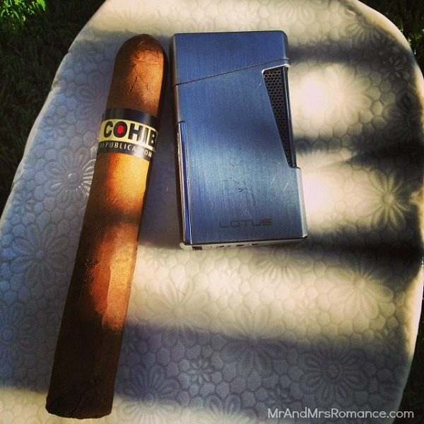 Mr & Mrs Romance - Insta Diary - 16 Cohiba Redspot for Friday sundowner