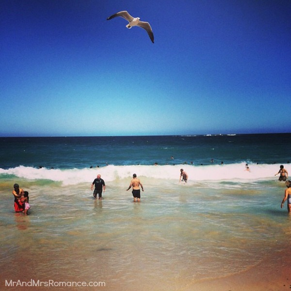 Mr & Mrs Romance - Insta Diary - 3 surf's up at Coogee with my bro & fam