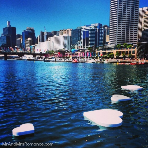 Mr & Mrs Romance - Insta diary - 15 Darling Harbour's Month of Love