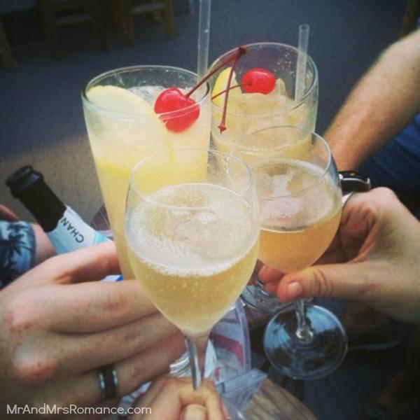 Mr & Mrs Romance - Insta diary - 17 reunited at Elixir bar