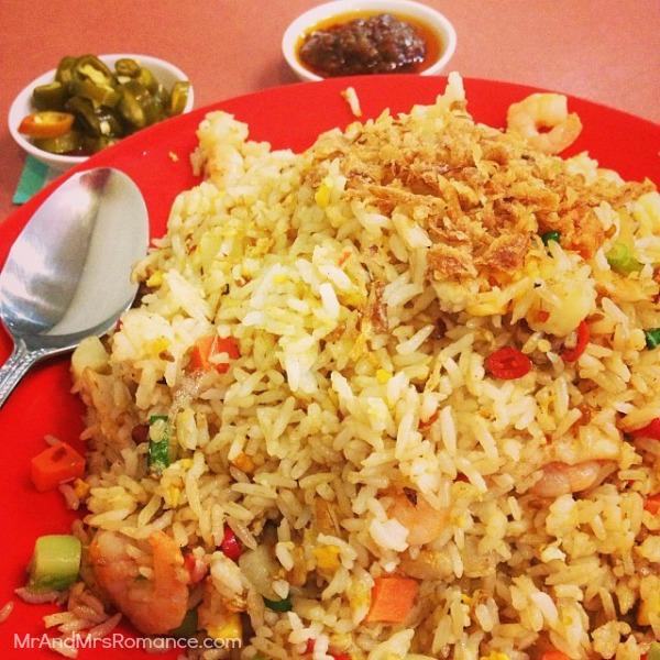 Mr & Mrs Romance - Insta diary - 4 lunch nasi goreng