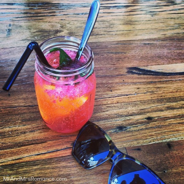 Mr & Mrs Romance - Insta diary - 6 strawberry soda from Paramount Coffee Project