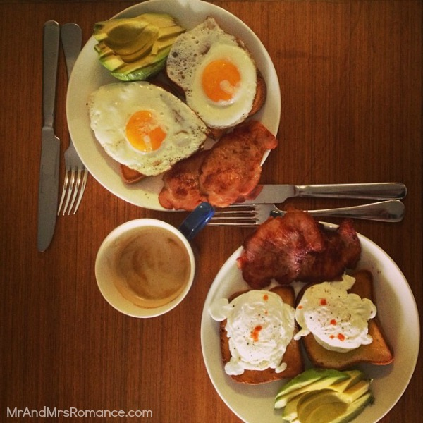 Mr & Mrs Romance - Ista Diary - 20 breakfast or two!