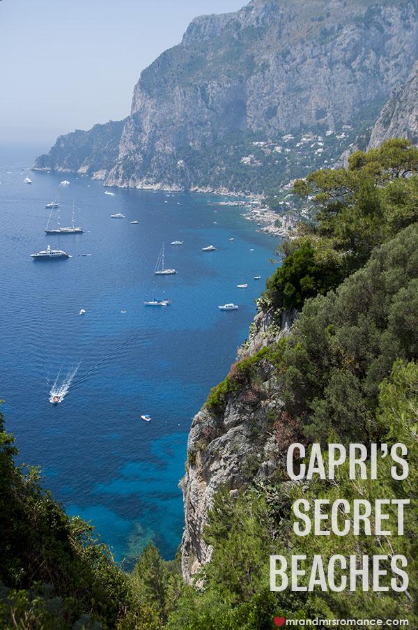 Mr and Mrs Romance - Capri's secret beaches