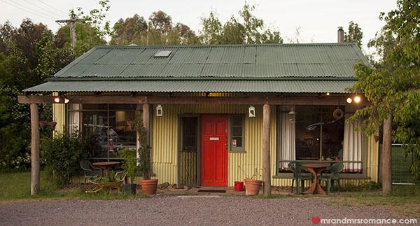 Mr and Mrs Romance - Fiorini's Restaurant - 2 unassuming frontage
