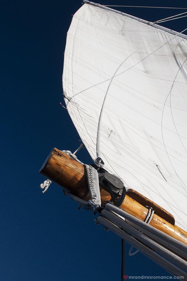 Mr and Mrs Romance - New York sailing