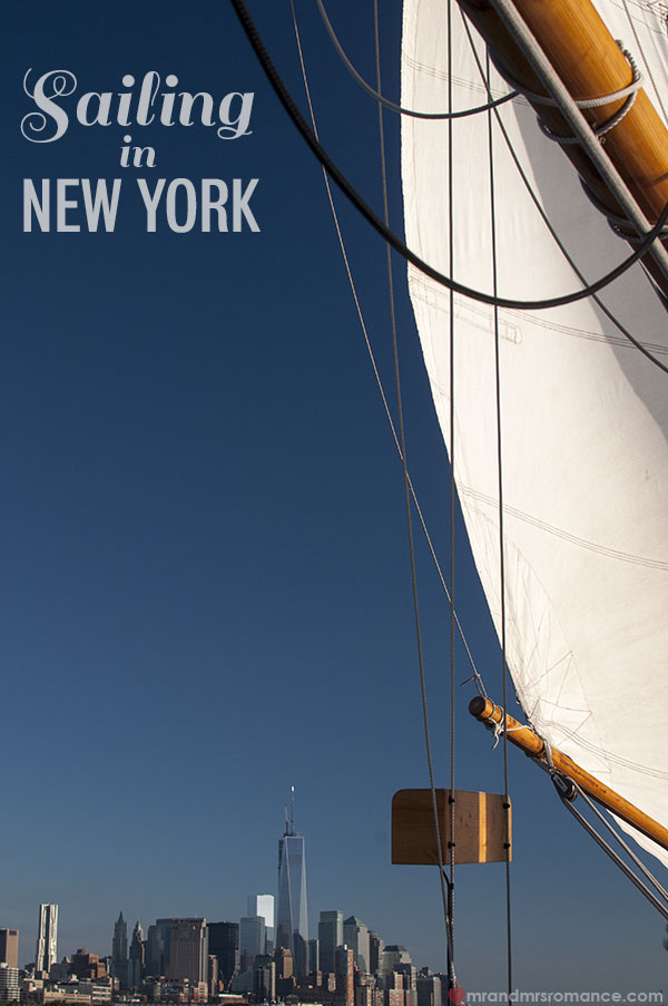 Mr and Mrs Romance -Sailing in New York City