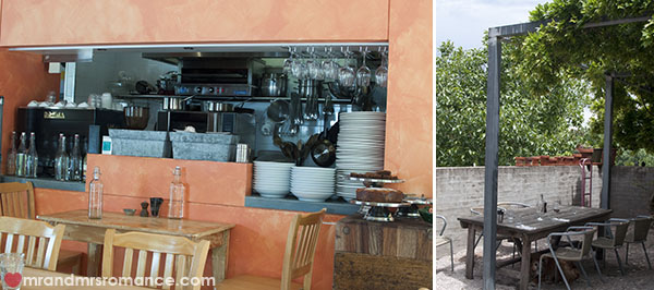 Mr and Mrs Romance - The Old Convent restaurant in Orange