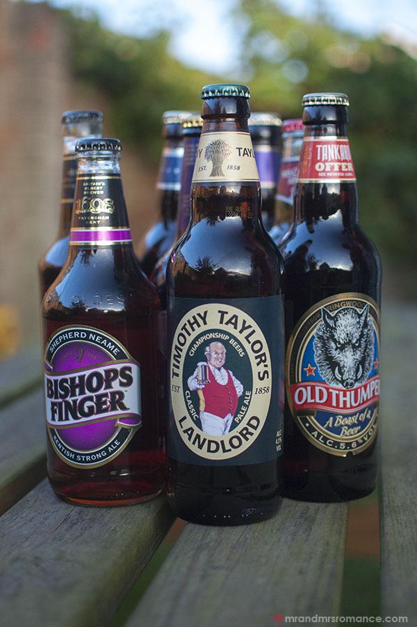 Mr and Mrs Romance - UK beer taster 1