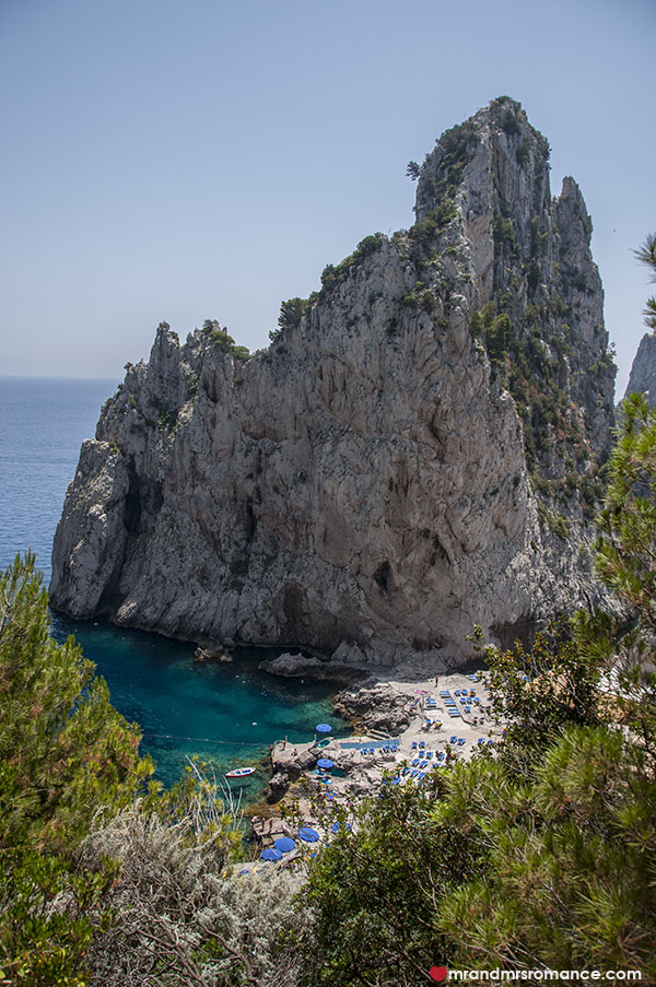 Mr and Mrs Romance - da luigi beach Capri