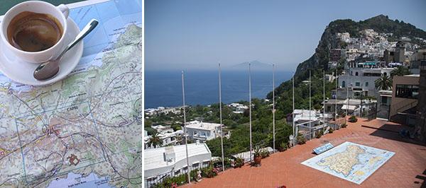 Mr and Mrs Romance - exploring Capri